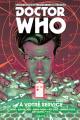 Couverture Doctor Who : Le onzième docteur, tome 2 : A votre service Editions Akileos 2016