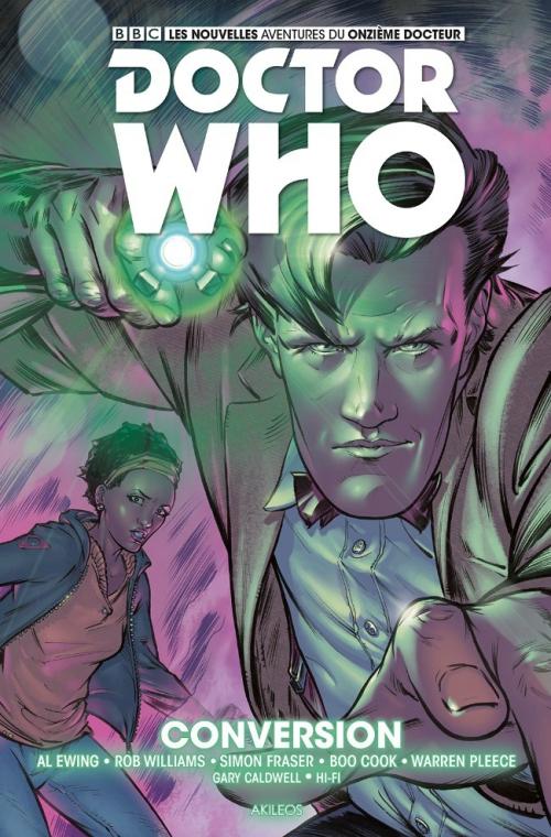 Couverture Doctor Who : Le onzième docteur, tome 3 : Conversion