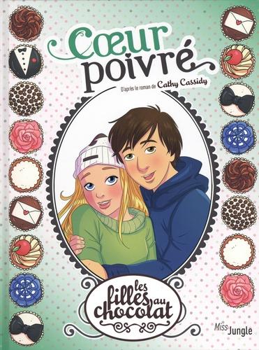 Couverture Les filles au chocolat (BD), tome 9 : Coeur poivré