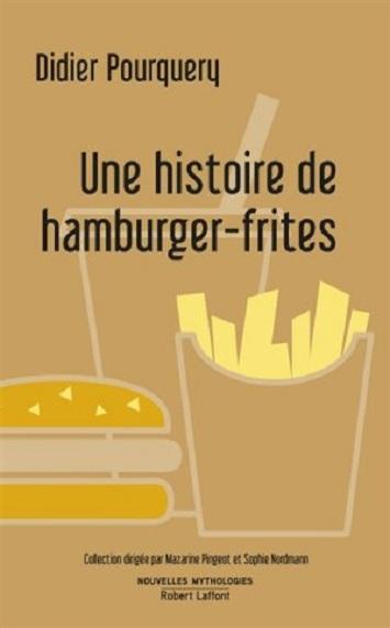 Couverture Une histoire de hamburger-frites