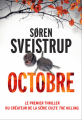 Couverture Octobre Editions France Loisirs (Suspense) 2020