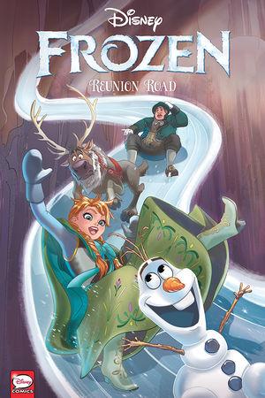 Couverture Frozen: Reunion Road