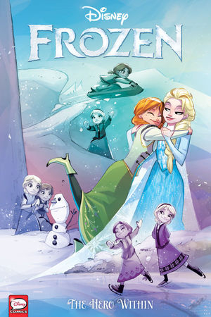 Couverture Frozen: The Hero Within