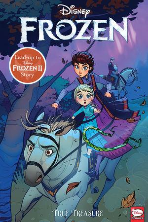 Couverture Frozen: True Treasure