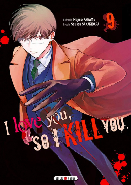 Couverture I love you, so I kill you, tome 9
