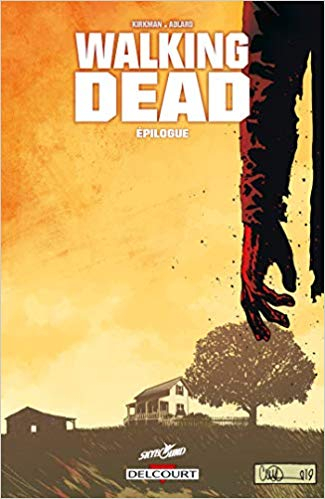 Couverture Walking dead, tome 33 : Epilogue