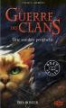 Couverture La Guerre des clans, cycle 1, tome 6 : Une sombre prophétie Editions 12-21 2011