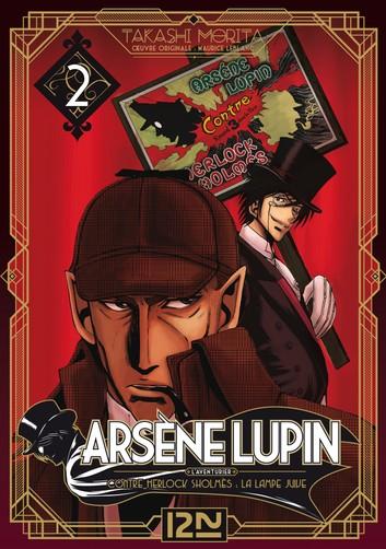 Couverture Arsène Lupin, L'aventurier, tome 2 : Contre Herlock Sholmès : La lampe Juive