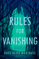 Couverture Rules for Vanishing Editions Viking Books 2019
