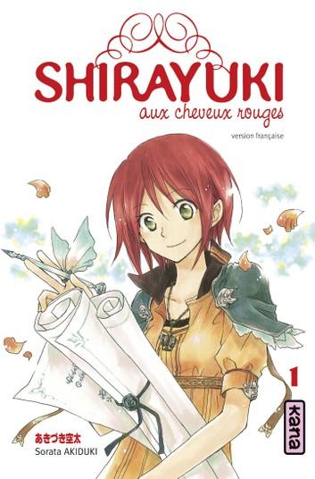Couverture Shirayuki aux cheveux rouges, tome 01