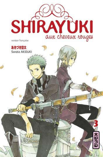 Couverture Shirayuki aux cheveux rouges, tome 03