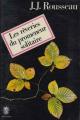 Couverture Les Rêveries du promeneur solitaire / Rêveries du promeneur solitaire Editions Le Livre de Poche 1972