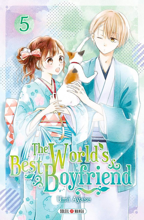 Couverture The world's best boyfriend, tome 5