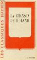 Couverture La chanson de Roland Editions Hatier 1950