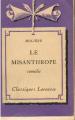 Couverture L'Avare, Le Misanthrope, Le Bourgeois gentilhomme Editions Larousse (Classiques) 1933