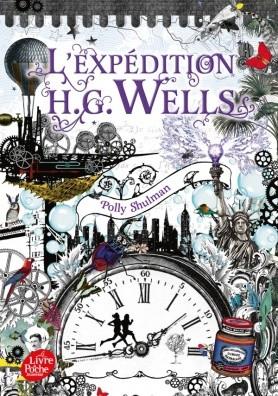 Couverture L'expédition H. G. Wells