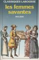 Couverture Les Femmes savantes Editions Larousse (Classiques) 1986