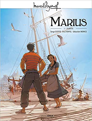 Couverture Marius (BD), tome 1