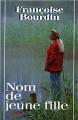 Couverture Nom de jeune fille Editions France Loisirs 1997