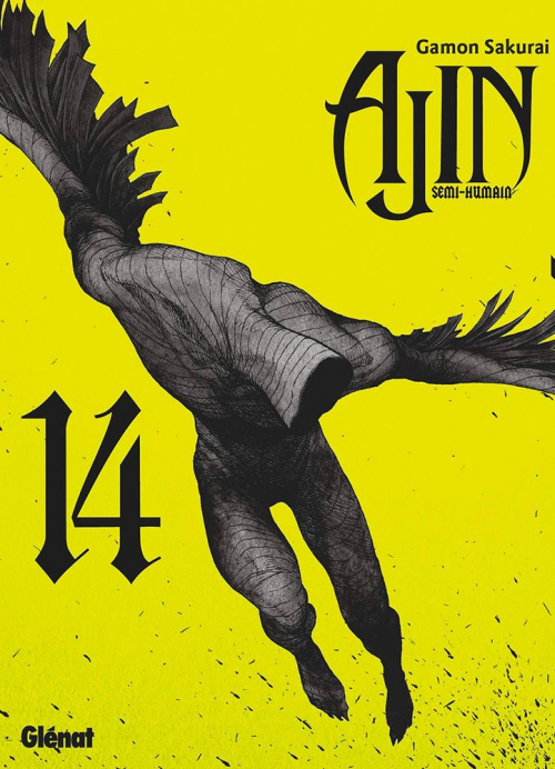 Couverture Ajin, tome 14