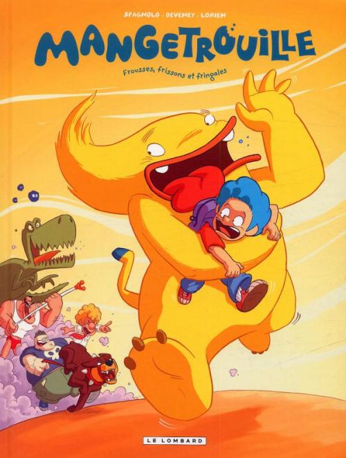 Couverture Mangetrouille, tome 1 : Frousses, frissons et fringales