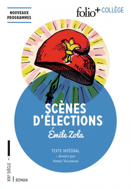 Couverture Scènes d'élections