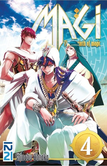 Couverture Magi : The Labyrinth of Magic, tome 04