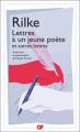 Couverture Lettres à un jeune poète Editions Garnier Flammarion 2020