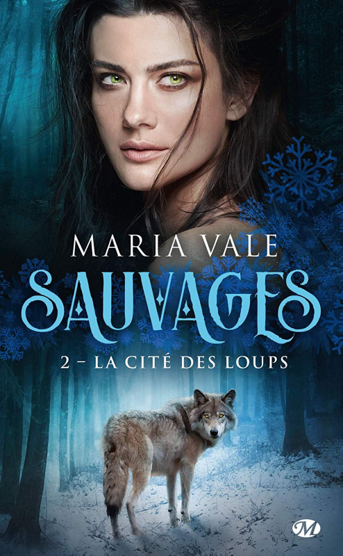 Couverture Sauvages, tome 2 : La Cité des loups