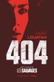 Couverture 404 Editions Flammarion (Littérature française) 2020