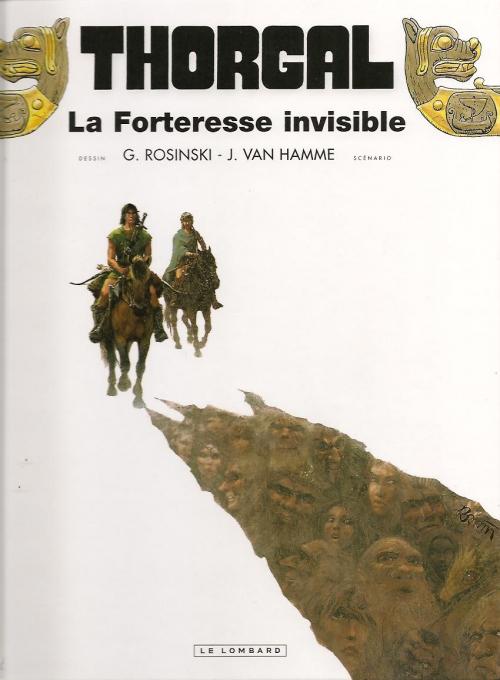 Couverture Thorgal, tome 19 : La Forteresse Invisible