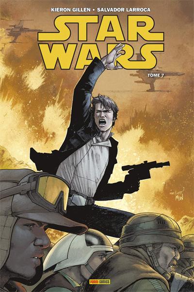 Couverture Star Wars, tome 7 : Les cendres de Jedha