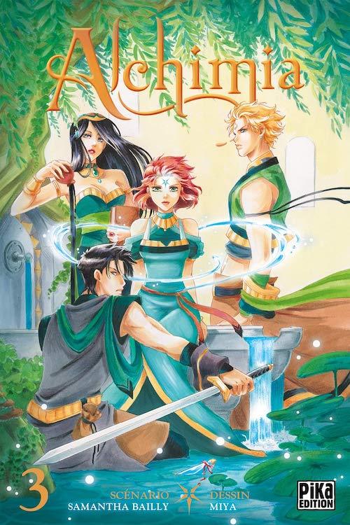 Couverture Alchimia (manga), tome 3