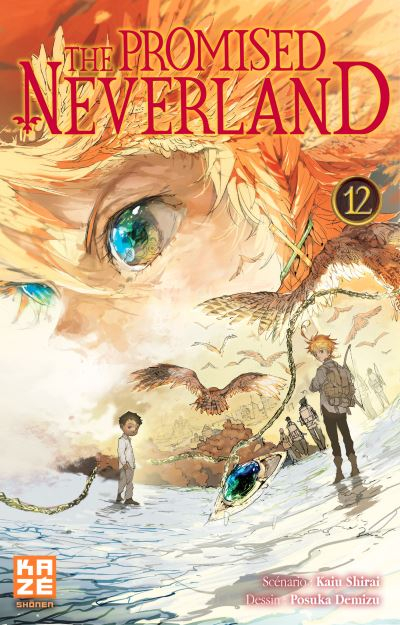 Couverture The promised neverland, tome 12