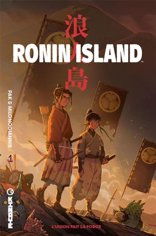 Couverture Ronin island, tome 1 : L'union fait la force