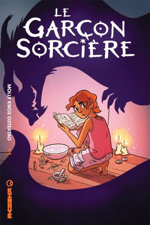 Couverture La sorcière, tome 1 : Le garçon sorcière