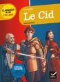 Couverture Le Cid Editions Hatier (Classiques & cie - Collège) 2017