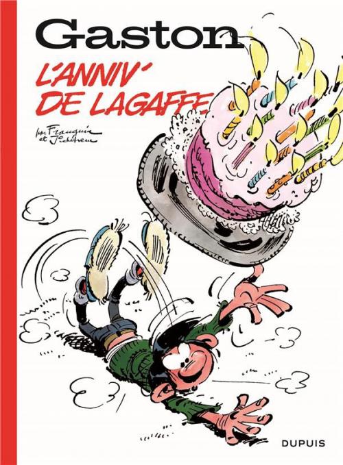 Couverture Gaston, hors-séries : L'anniv' de Lagaffe