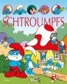 Couverture La grande imagerie des héros de BD, Les Schtroumpfs Editions Fleurus 2017