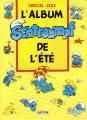 Couverture Les schtroumpfs Spécial jeux : L'album Schtroumpf de l'été Editions Dupuis 1991