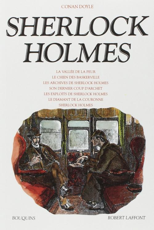 Couverture Sherlock Holmes : La vallée de la peur, Le chien des Baskerville, Les archives de Sherlock Holmes, Sont dernier coup d'archet, Les exploits de Sherlock Holmes