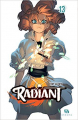 Couverture Radiant, tome 13 Editions Ankama 2020