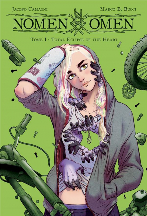 Couverture Nomen Omen, tome 1 : Total Eclipse of the Heart