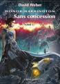 Couverture Honor Harrington (23 tomes), tome 22 : Sans concession, partie 1 Editions L'Atalante (La Dentelle du cygne) 2020