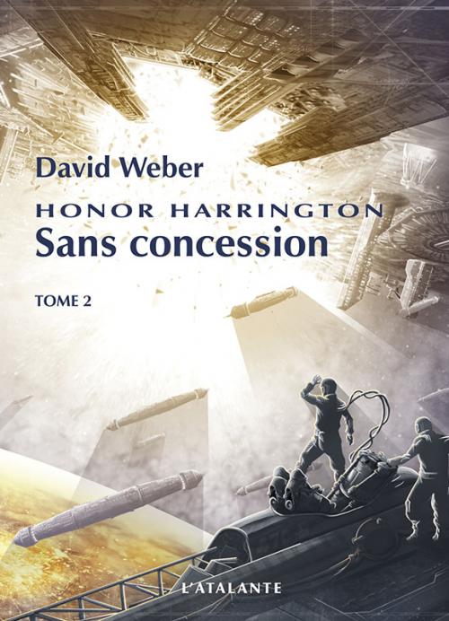 Couverture Honor Harrington (23 tomes), tome 22 : Sans concession, partie 2