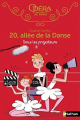 Couverture 20, allée de la danse, tome 14 : Sous les projecteurs Editions Nathan 2019