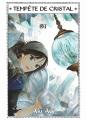 Couverture Tempête de cristal, tome 1 Editions Komikku 2020