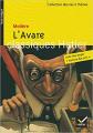 Couverture L'Avare Editions Hatier 2011