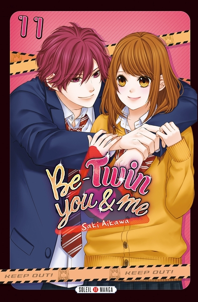 Couverture Be-twin you & me, tome 11