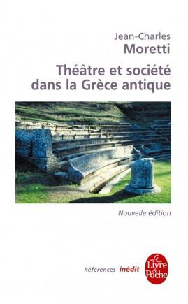 Couverture Théâtre et société dans la Grèce antique